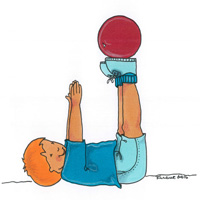 Creative Capers 1 : Balance Using A Ball